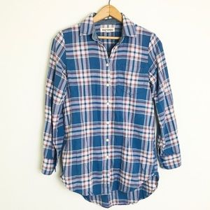 Madewell Rivet & Thread Hannah Plaid Flannel
